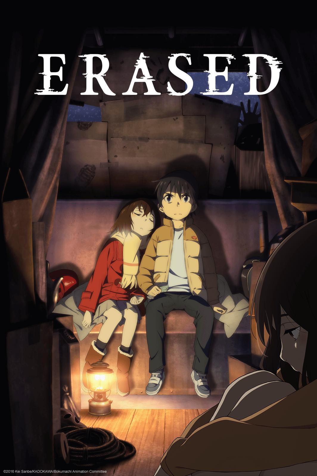 ERASED - Watch on Crunchyroll
