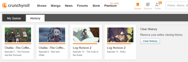 Crunchyroll - Forum - Is there a way to reset a show to unwatched