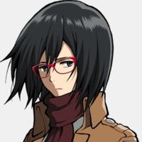 Crunchyroll Megane Mikasa Promotes Quot Attack On Titan Quot Pc