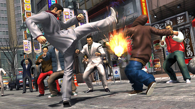 Picking a fight with Kiryu? Not a good idea...