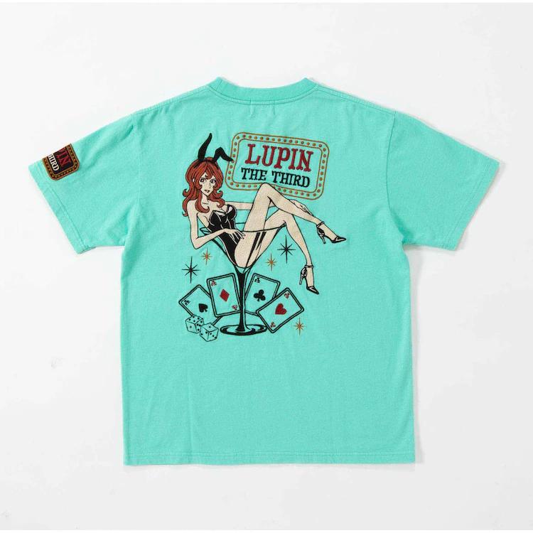 Camisa Lupin: Espalda (conejito Fujiko)