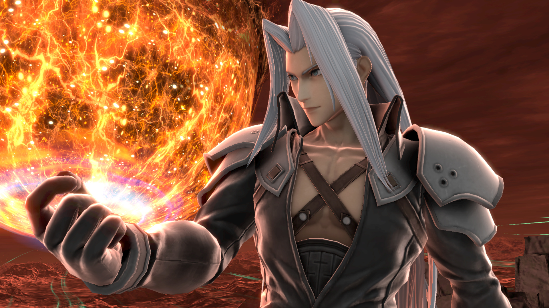 Sephiroth en Super Smash Bros.Ultimate