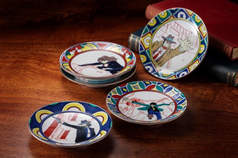 Lupin the 3rd Kutani plates
