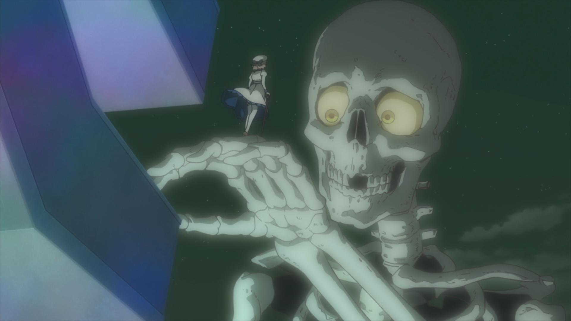 Голодающий скелет