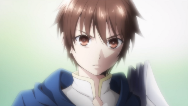 A close-up of Wendelin von Benno Baumeister, the main character of the upcoming Hachinan-tee, Sore wa Nai Deshou! TV anime.