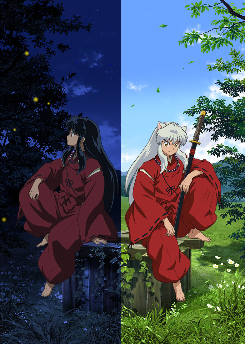 Inuyasha key visual for PARCO Factory