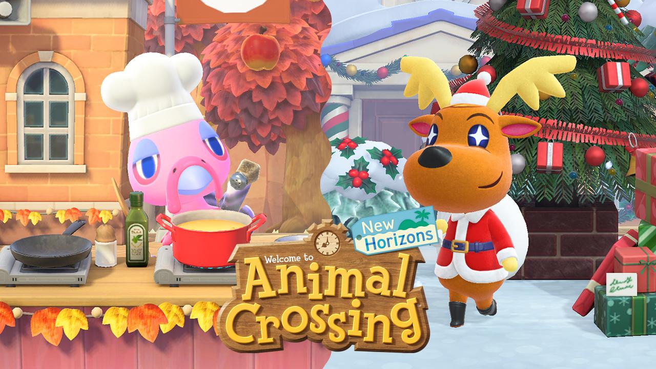Animal Crossing: Actualización de invierno de New Horizons