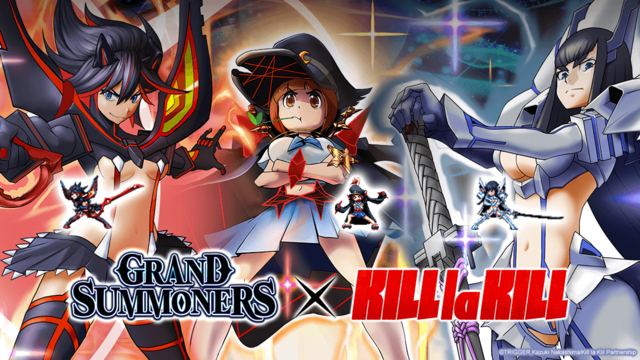 Kill la Kill x Grand Summoners