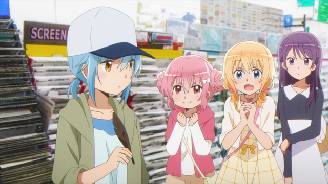 The cast of Comic Girls