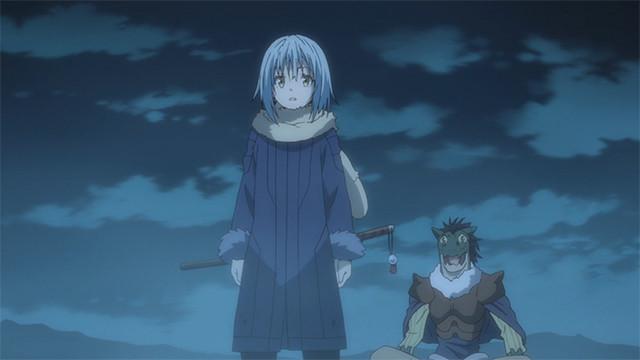 Rimuru protecting Gabiru