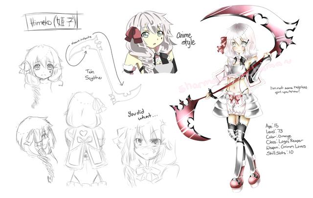 Online Character Design Contest