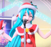 Christmas Hatsune Miku.Crunchyroll Video Merry Christmas From Sega And Hatsune Miku
