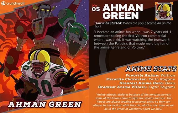 Ahman Green Player Card