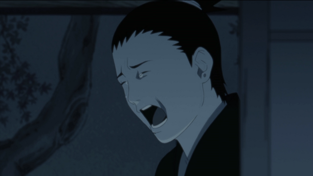 Shikamaru finally breaks down