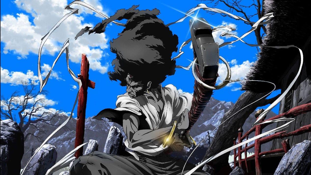 Afro Samurai foi um dos poucos animes exibidos na antiga MTV Brasil