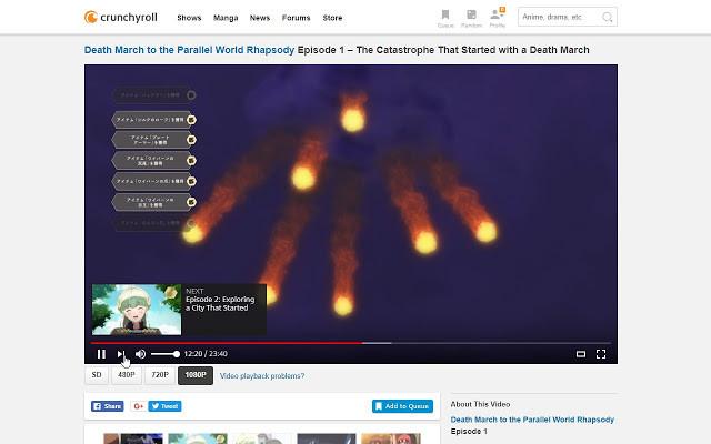 Crunchyroll - Forum - Death of the Old HTML5 Crunchyroll Extension