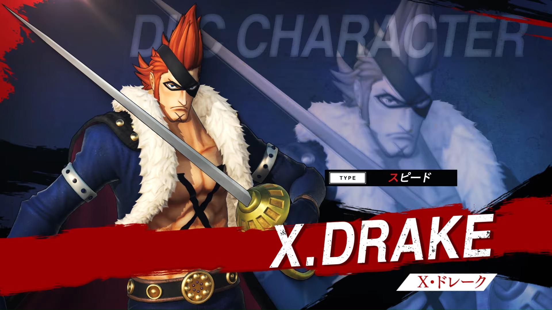 One Piece: Pirate Warriors 4,X-Drake