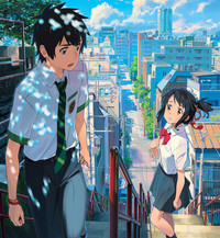 Anime Director Makoto Shinkai Delivered A Blockbuster Hit With His 2016 Movie Your Name The Film Which Broke Box Office Records In Japan And Became