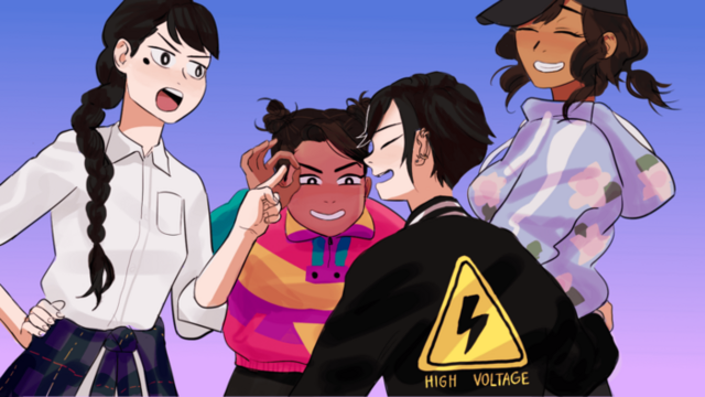 The leads of Butterfly Soup!