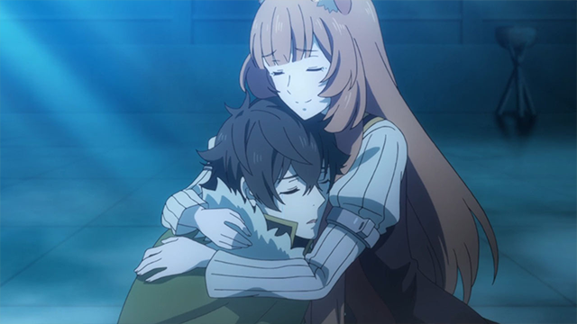 The Rising of the shield Hero, Naofumi and Raphtalia