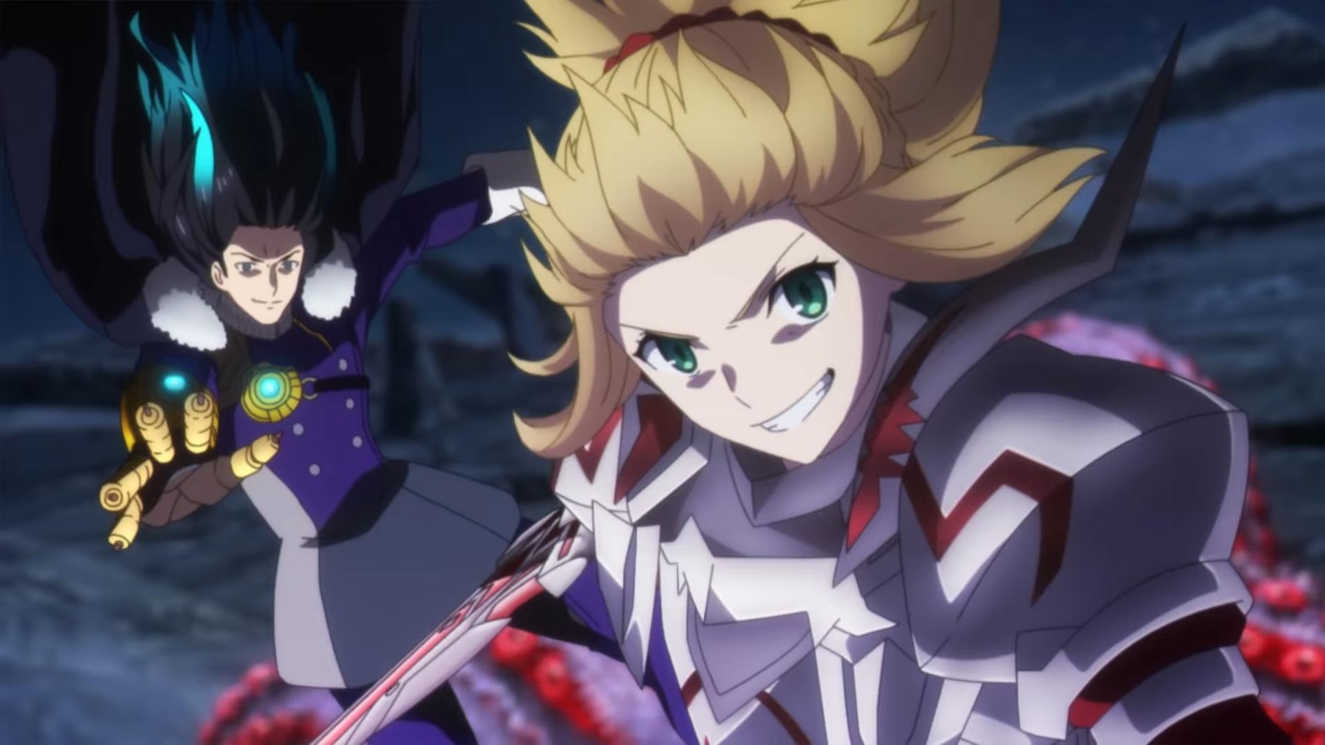Los caballeros llegan en la nueva película de Fate / Grand Order