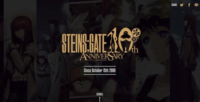 Rayakan Ulang Tahun ke-10, Steins;Gate Hadirkan 10 Proyek Baru