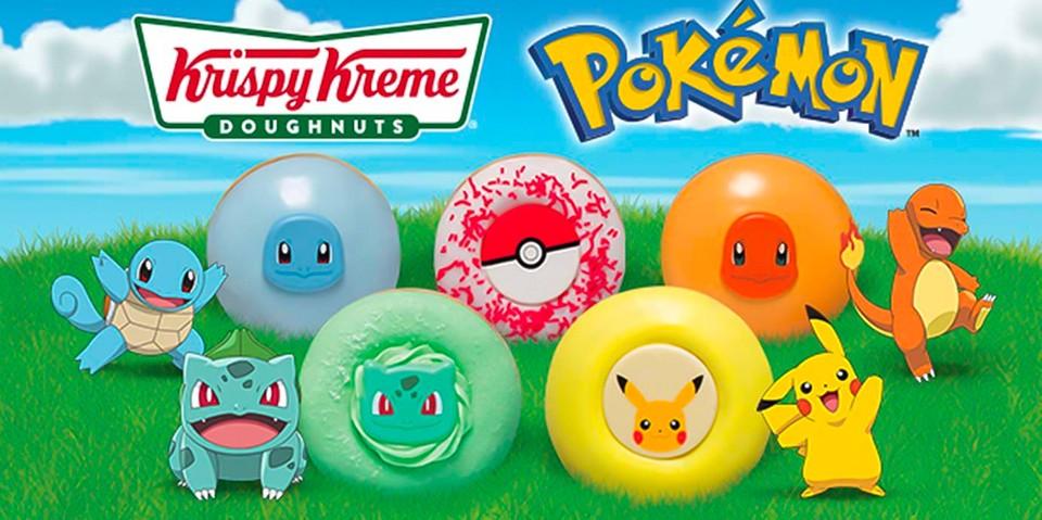 Pokémon x Krispy Kreme