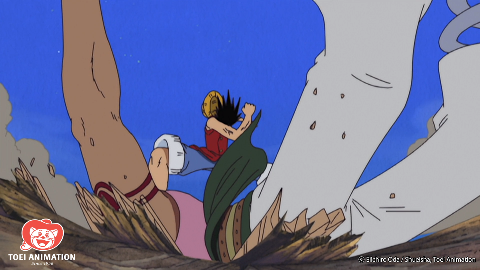 One Piece, Luffy Punches Bellamy