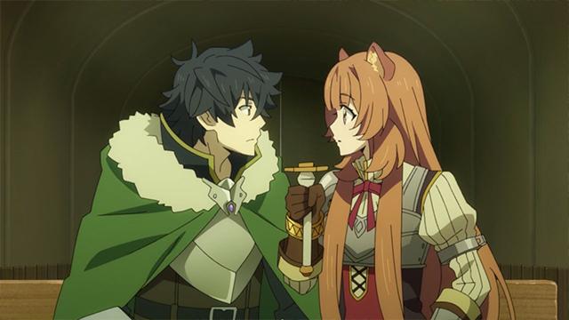 Shield Hero Naofumi and Raphtalia