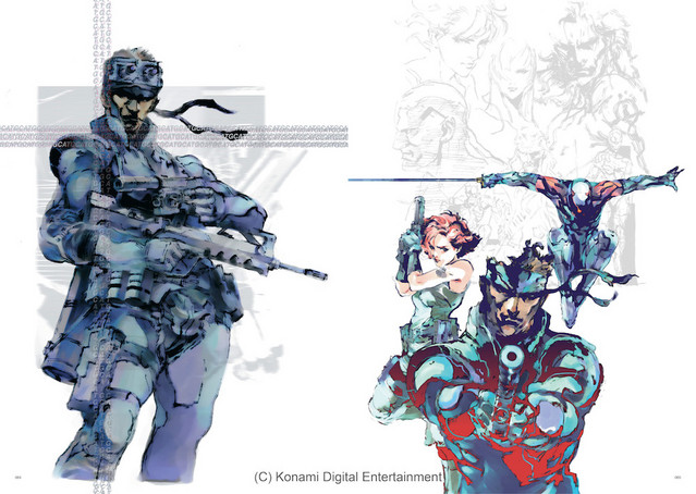 crunchyroll exclusive sample the art of metal gear solid i iv