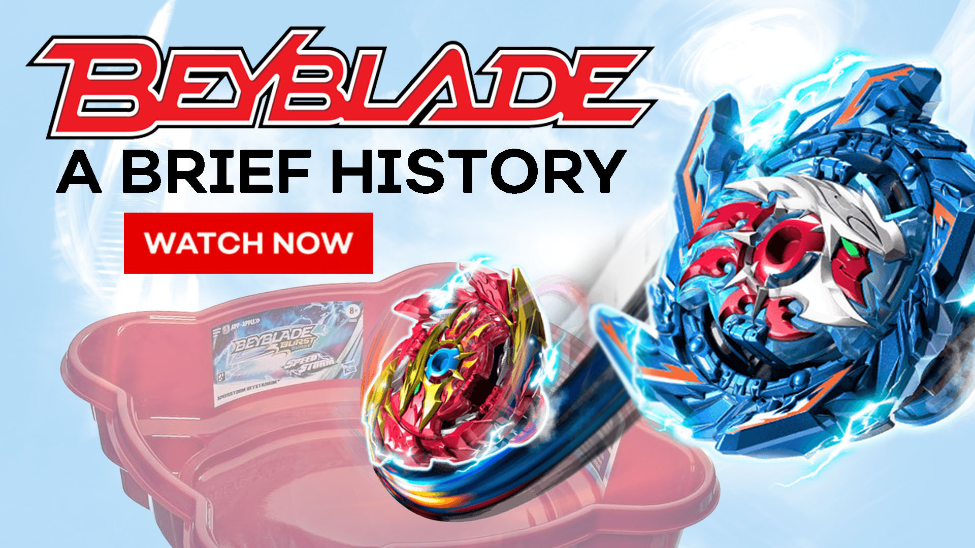 A Brief History of Beyblade