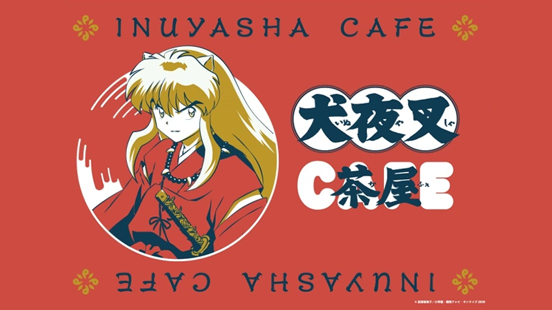 Inuyasha Cafe, opening soon at three locations across Japan