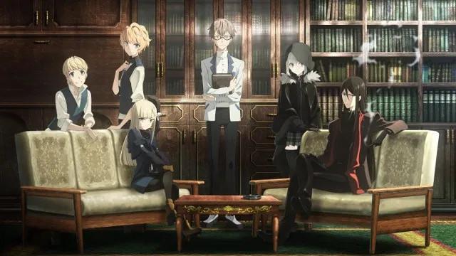 Imagen del anime de El Melloi
