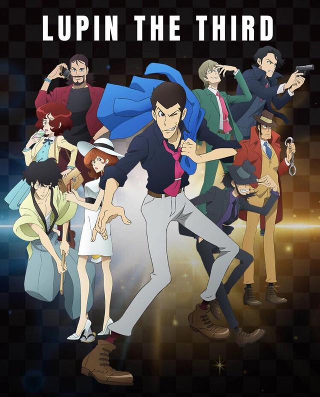 """ملصق دعائي للنصف الثاني من حلقات الموسم الخامس لأنمي """"Lupin III"""""""