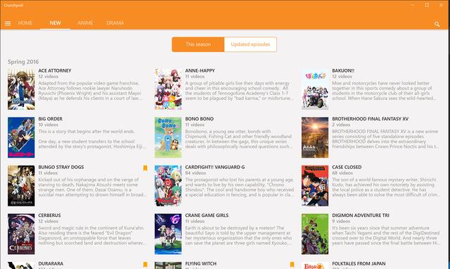 Crunchyroll - Forum - Crunchyroll Announces Windows 10 Universal App!