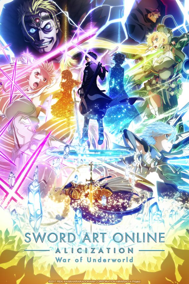 Sword Art Online Alicization War of the Underworld regresa con su segunda parte a Crunchyroll