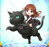 Crunchyroll Video Shokotan Rides A Giant Cat In Ad For Japanese