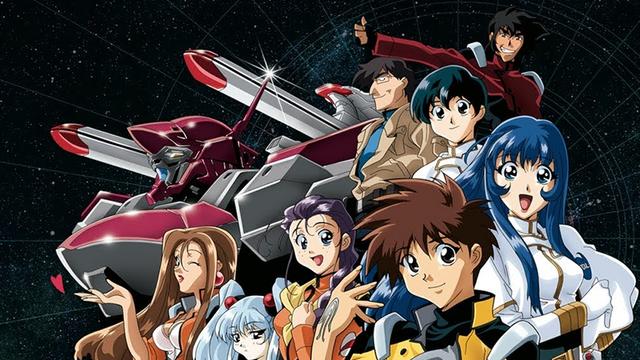 The cast of Martian Successor Nadesico