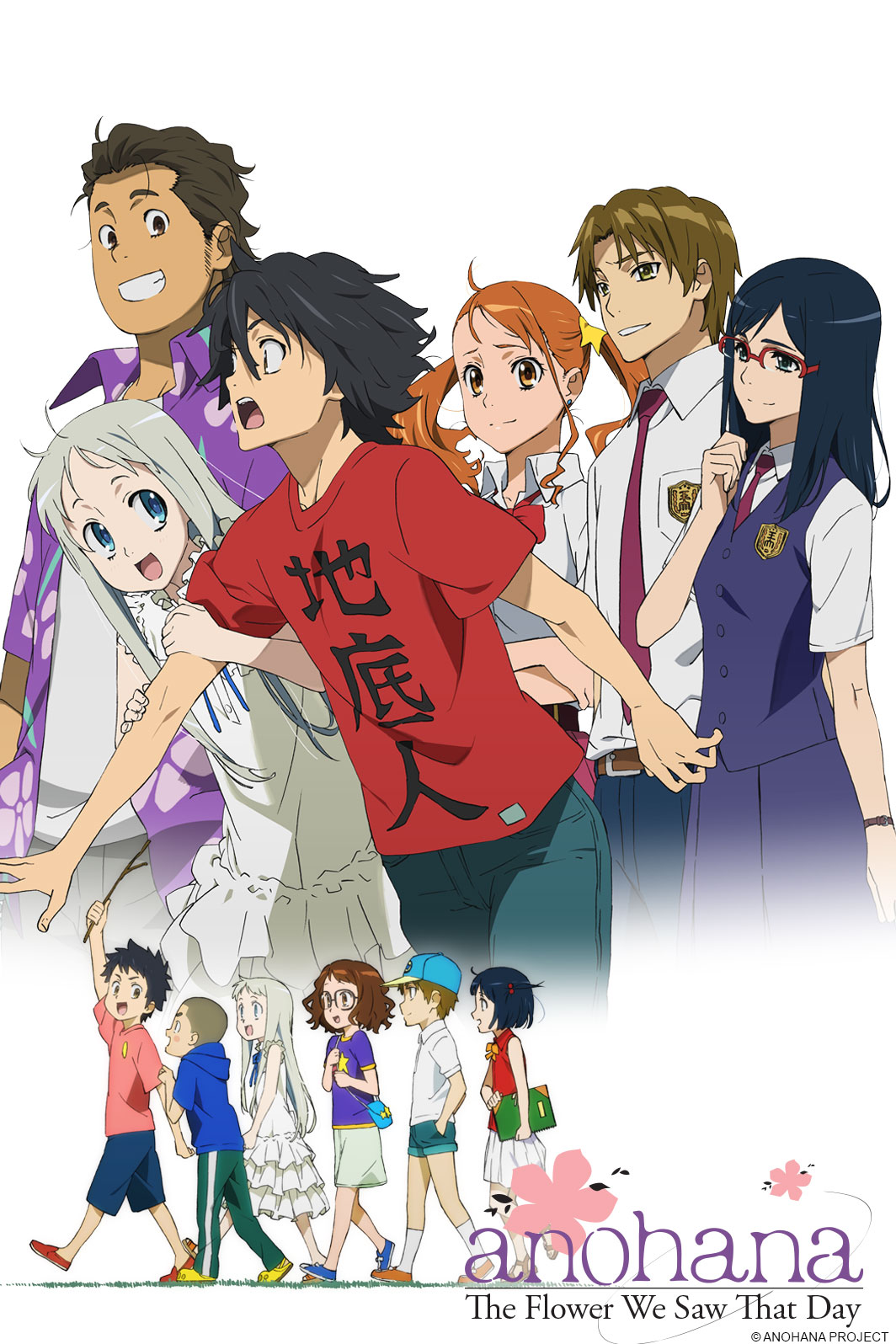 Anohana: The Flower We Saw That Day - Watch on Crunchyroll