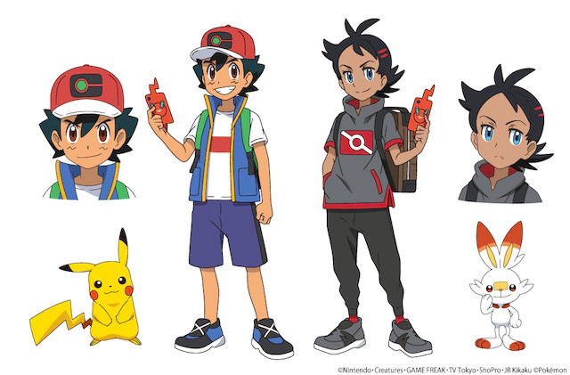 New Pokémon anime character sheet