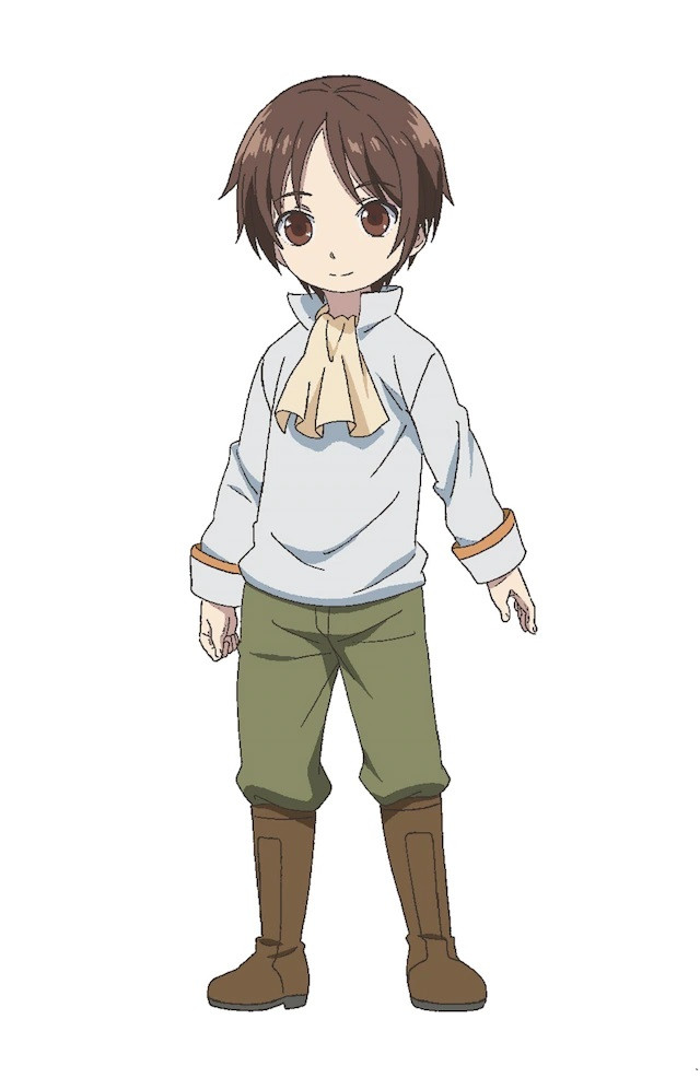 A character visual of Wendelin as a child from the upcoming Hachinan-tte, Sore wa Nai Deshou! TV anime.