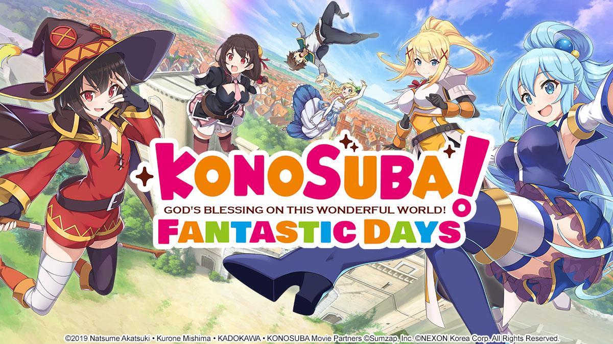 KONOSUBA: Días fantásticos