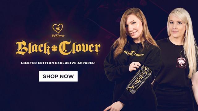 CR Loves Black Clover