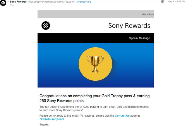 Crunchyroll - Forum - Trophies for Rewards