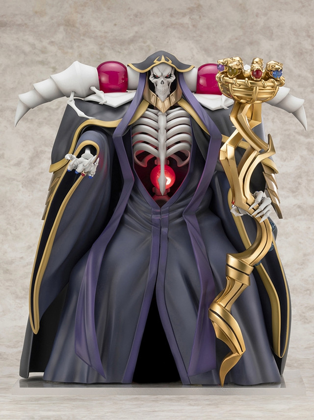 Crunchyroll - F:NEX's Overlord Ainz Ooal Gown Figure