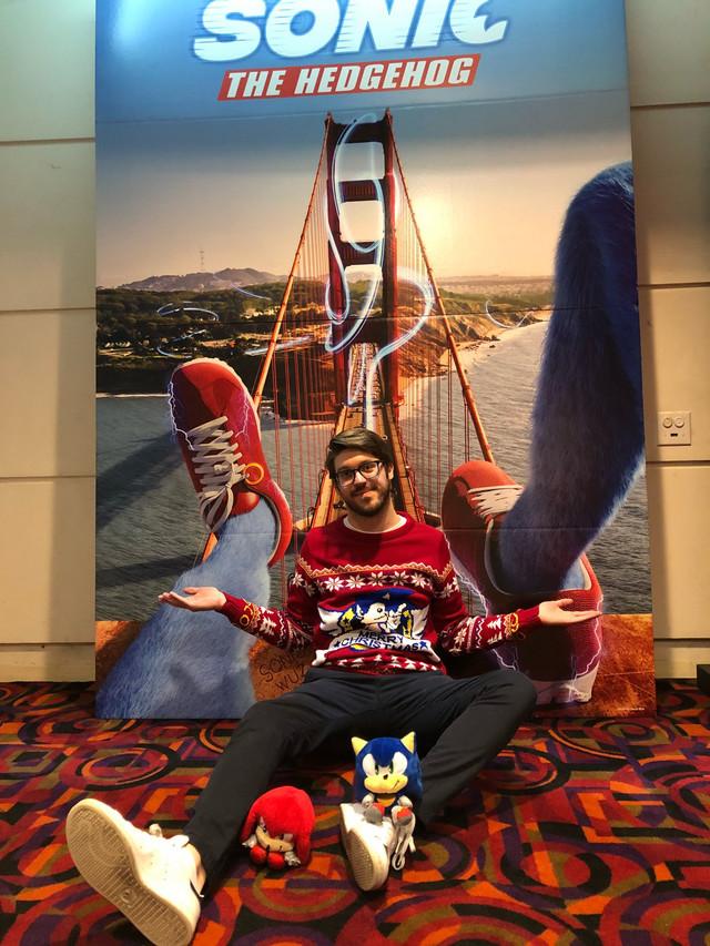 Cameron Trentalange - Sonic Fan