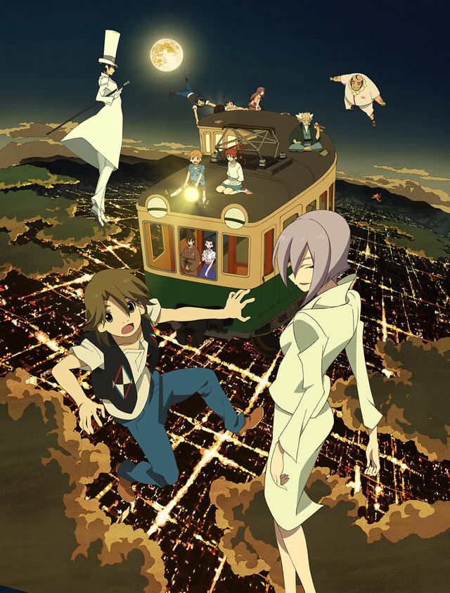 873937690aea7359b104574212b39b851484223555 full Key visual và PV đầu tiên cho anime Uchouten Kazoku 2
