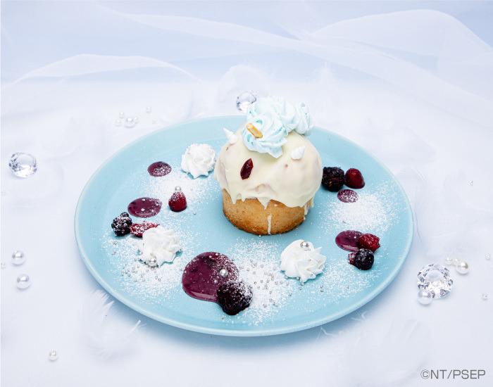 Small Lady Unicorn Cupcake