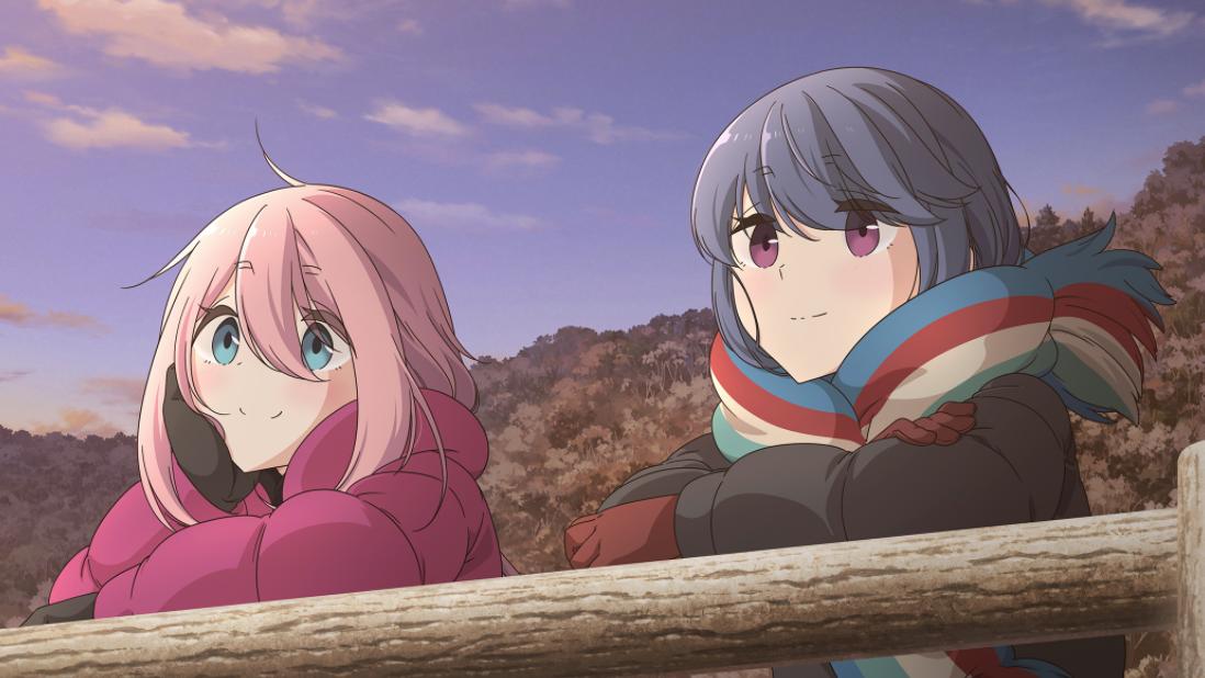Nadeshiko and Rin from Laid-Back Camp