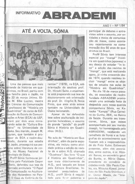 Abrademi newspaper clipping